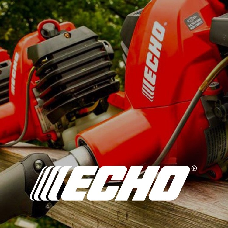 Echo power equipment with logo