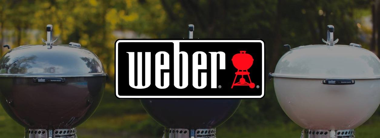 Weber grills with logo