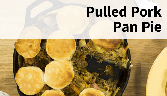 Broil King Pulled Pork Pan Pie Appetizer for the Big Game