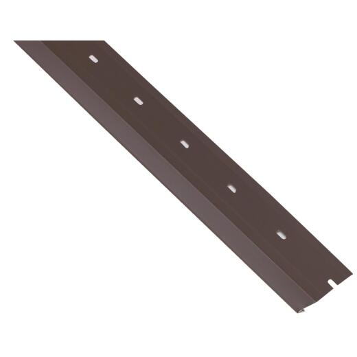 Georgia Pacific 2-1/2 In. x 10 Ft. Wide Metal Siding Starter Strip