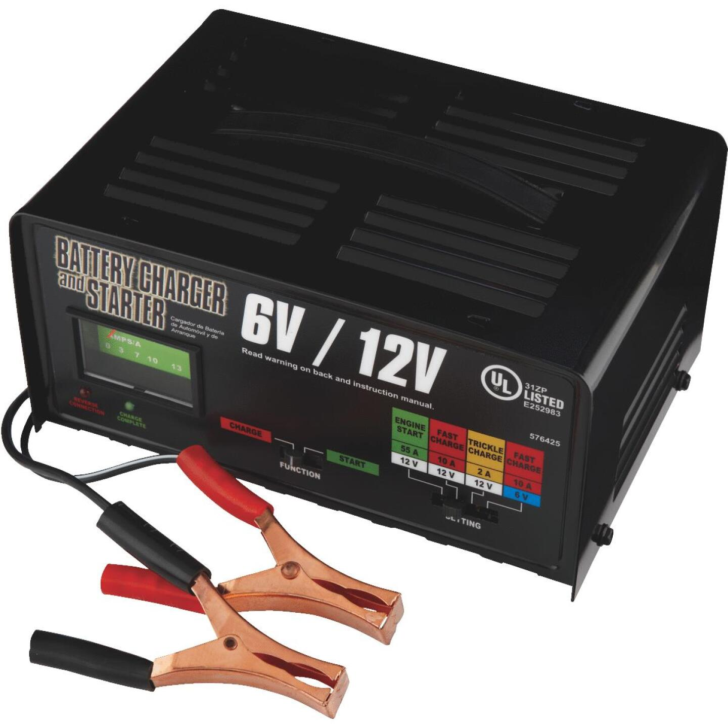Automatic 6V and 12V 2A/10A/55A Auto Battery Charger Image 4