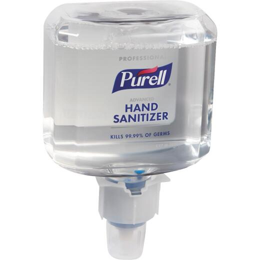 Purell Professional Advanced Foaming 1200 mL Hand Sanitizer for Push-Style Dispenser