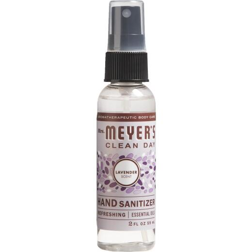 Mrs. Meyer's Clean Day 2 Oz. Lavender Hand Sanitizer